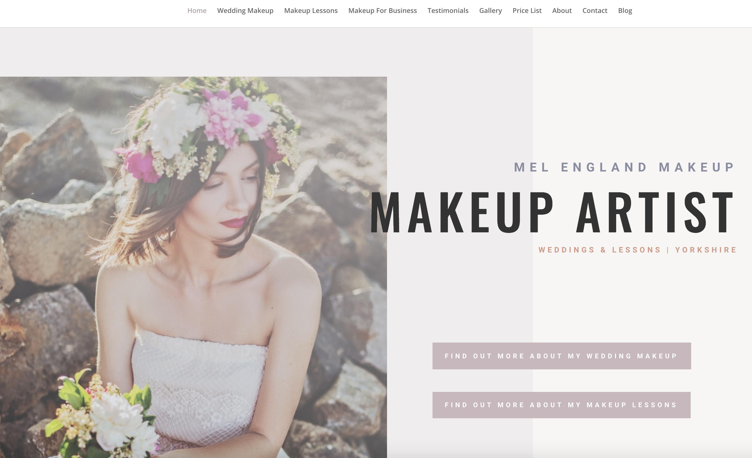 Mel England Makeup